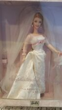 Nrfb 2002 Sophisticated Wedding Bridal Collection Barbie Doll New