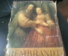 REMBRANDT PAINTINGS Apollo Edition Hardcover – 1948 by Thomas, BODKIN