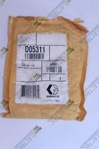 Graco, D05311, Husky 515 716 Series Repair Kit PTFE Diaphragm Ball Stainleless
