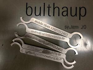 bulthaup system 20 - Stellschlüssel alle Füsse. NEU