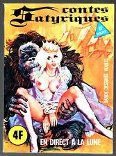 CONTES SATYRIQUES n°30 # EN DIRECT DE LA LUNE # 1977 ELVIFRANCE