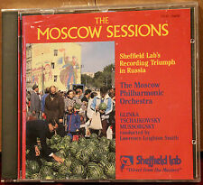 SHEFFIELD LAB CD 25: THE MOSCOW SESSIONS Volume 1 - OOP 1987 USA As NEW