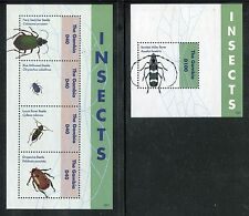 Gambia 3474-3475, MNH, Insects Beetles, 2012. SCV-$15.50 x26146
