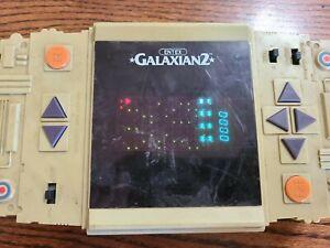 VINTAGE 1980'S ENTEX GALAXIAN 2 HANDHELD VIDEO GAME *TESTED* WORKING