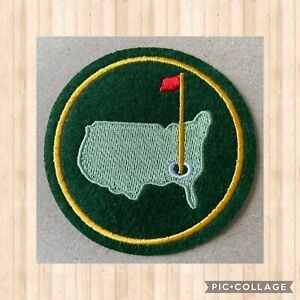 🇨🇦 Augusta Masters Golf  Embroidered patch sew on stick on #181 🇨🇦