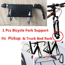 1x Bike Fork Holder Bicycle Support Mount for Pickup Truck Bed Storage Rack New