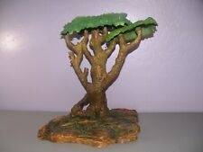 Jungle Forest TREE PAPO SCHLEICH WOODLAND Display Playset Diorama Gaming 14""