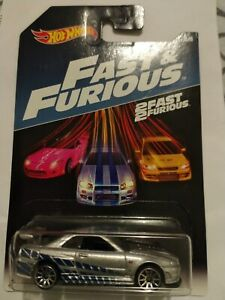 2017 hot wheels fast & furious Nissan Skyline GT-R R34