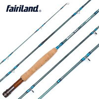 2.7M Portable Fly Fishing Rod Aluminum Alloy Travel Fishing Rod w/ Spare Tip Top