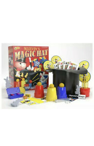 Marvin's Magic Hat Includes 150 Magic Tricks For Age 6+ Years Brand New!