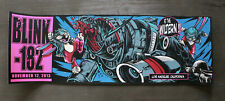 Blink 182 Show Poster Limited 182