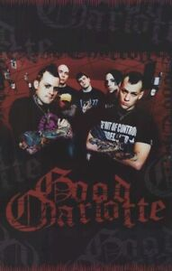 2004 GOOD CHARLOTTE RED POSTER ORIGINAL FUNKY NEW 22X34 FREE SHIPPING