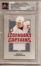 06-07 Steve Yzerman ITG In The Game Ultimate Memorabilia Legendary Captains /25