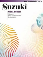 New - Suzuki Viola School Piano Accompaniments Volume A