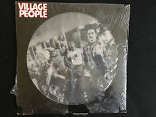 """Village People-rare 12"""" 4 song EP picture disc Casablanca Records 1978 (sealed)"""