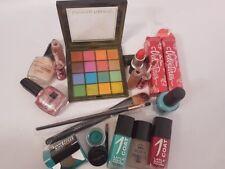 Lote de mezcla de trabajo de cosméticos Maybelline Nyx CND Mac Lime Crime & ETC... VER FOTOS