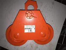 CM JET Heavy Duty Industrial BB 3 TON Hoist I Beam Trolley Tool Model 258