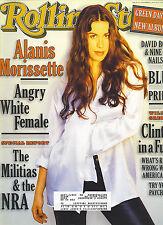 ROLLING STONE magazine #720  ALANIS MORISSETTE cover  Green Day  Blur