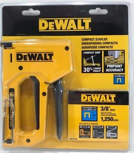 DeWalt - DWHT74841 - Heavy-Duty Compact Staple Gun