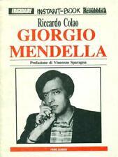 GIORGIO MENDELLA  COLAO RICCARDO  PRIMO CARNERA 1991