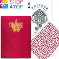 ELLUSIONIST KNIGHTS RED PLAYING CARDS DECK MADISON RAMSAY CHESS MAGIC TRICKS NEW