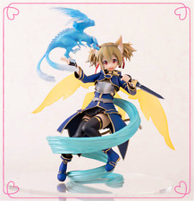 Anime Sword Art Online Funny Knights Silica and Pina ALO Ver 1/8 PVC Figure