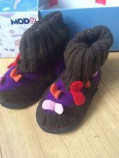Mod8 filles pantoufles wmonica violet taille 24 uk 7