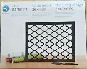 Silhouette Cameo/Cricut Maker Vinyl Starter Kit New Factory Sealed Crafting