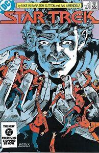 Star Trek Comic 5 Copper Age First Print 1984 Barr Sutton Amendola Wolfman DC