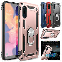 For Samsung Galaxy A10e Case Shockproof Ring Holder Stand Armor Phone Back Cover
