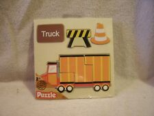New 6 Piece Truck Wooden Puzzle