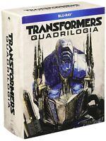 Transformers Quadrilogia (Box 4 Blu-ray), cofanetto italiano, nuovo