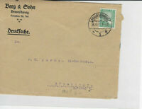 German Postal History Stamps Cover Ref: R4666