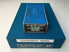 *LIMITED EDITION* COLT 1911 Blue box Colt's Revolvers Winchester 45 ACP ammo box