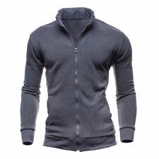 Men's Winter Warm Slim Fit Hoodie Jumper Sweatshirt Coat Jacket Outwear Sweater