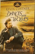 1990 Dances With Wolves Kevin Costner Mary McDonnell Epic Western NEW DVD