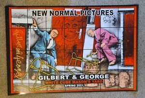 Gilbert and George - New Normal Pictures [Funky] *Signed*