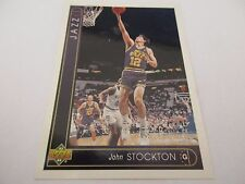 Carte NBA UPPER DECK 1993-94 FR #63 John Stockton Utah Jazz