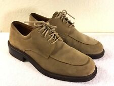 Cole Haan City men's Beige Brown Suede Lace Up Oxford Shoes Size US 8.5 M