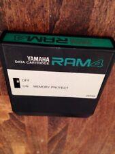Used! YAMAHA RAM4 Data Cartridge Synthesizer Unit for DX7Ⅱ TX802 RX5