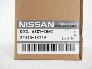 Genuine OEM Nissan Infiniti 22448-1KT1A Direct Ignition Coil