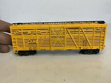 Vintage Athearn Ho Scale Model Trains The Katy Stock Car Boxcar Black Lettered