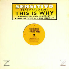 New listing Sensitivo - This Is Why - Vinyl Record 12.. - c7294c