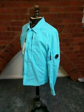 C.P. Company Overshirt Jacket 50 Fili Blue Brand New With Tags. Size large