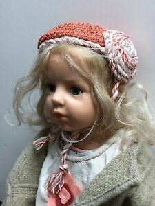 "25"" Hildegard Gunzel ""Frauke"" Resin No. 160/200 Beautiful Blonde Girl COA W/Box"