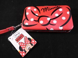 Disney Minnie Mouse Phone Case & Card Holder - Tagged (for Phones 12cm x 6.5cm)