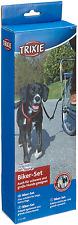 Trixie 1287 Biker-Set de Luxe Abstandshalter Fahrradleine für Hunde
