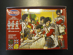 Napoleonic Waterloo Highlanders Flank Companies [60 Figures]