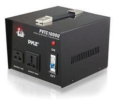 New PVTC1000U Step Up/Down 1000 W Voltage Converter Transformer AC 110/220V USB