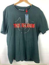 True Religion Men's Metallic Print Logo Tee T-Shirt XXL 2XL